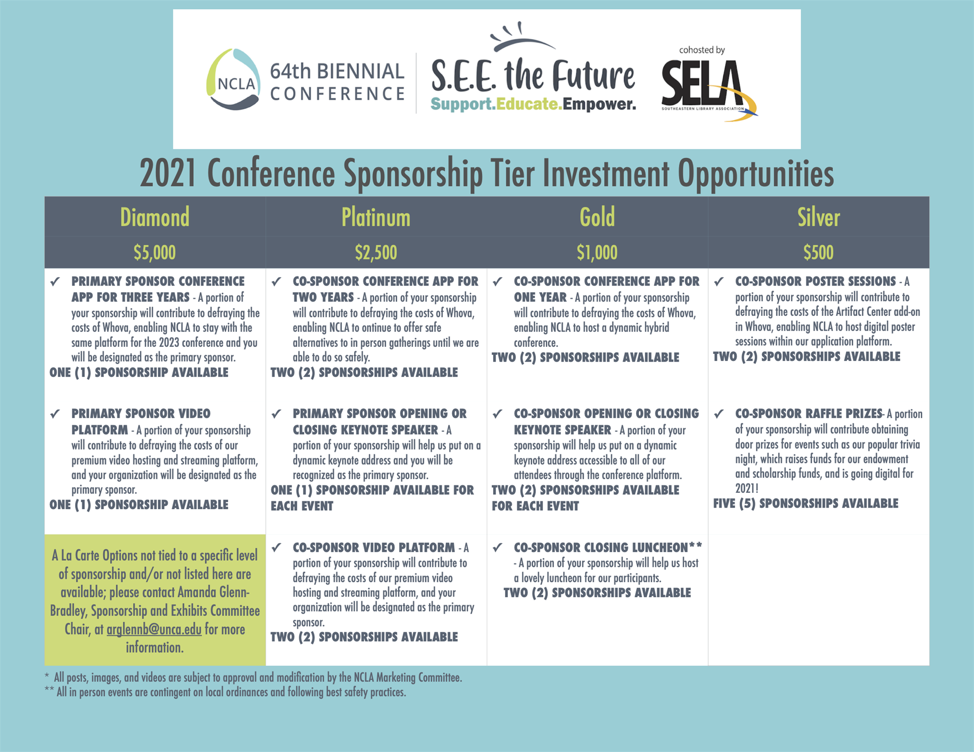 2021 conference investment benefits